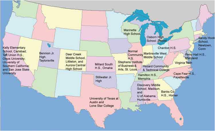 Map Of Universities In California California Community