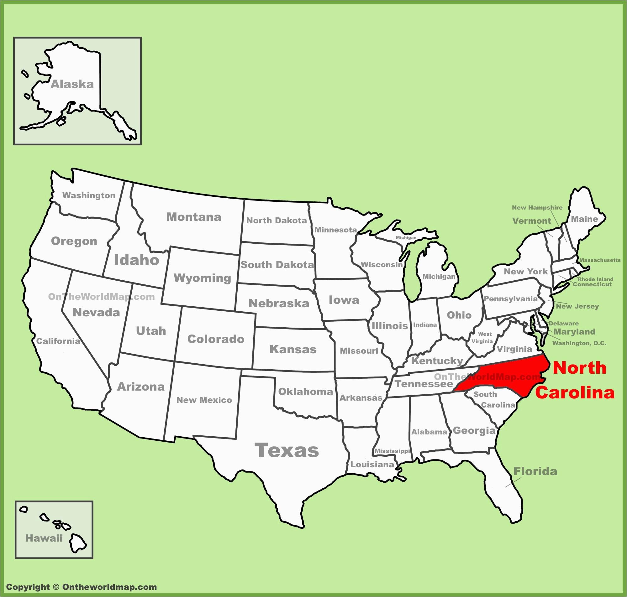 north carolina state maps usa maps of north carolina nc