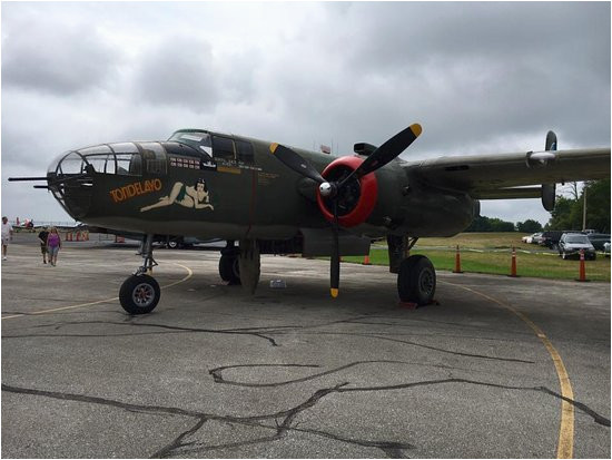 wwii bomber display this past weekend picture of maps air museum