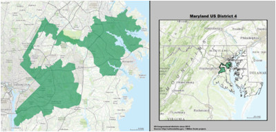 maryland s 4th congressional district wikipedia