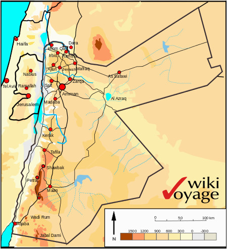 geography of jordan wikipedia