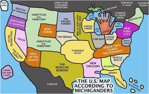 Michigan Indian Casinos Map This Is Funny Michigan Folk Ps