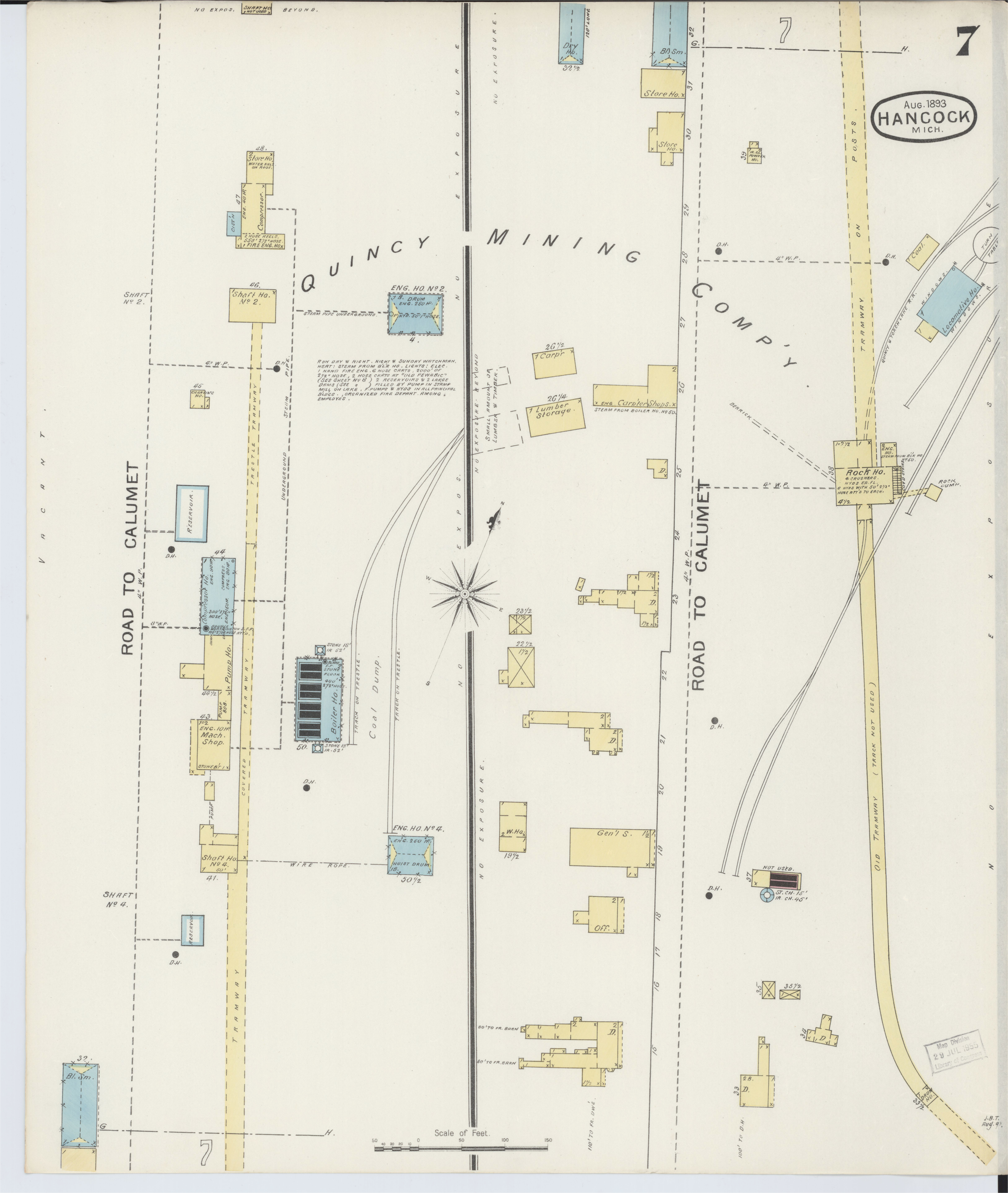 file sanborn fire insurance map from houghton houghton county