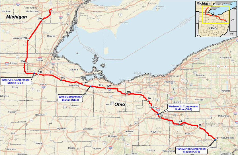natural gas pipeline map maps directions