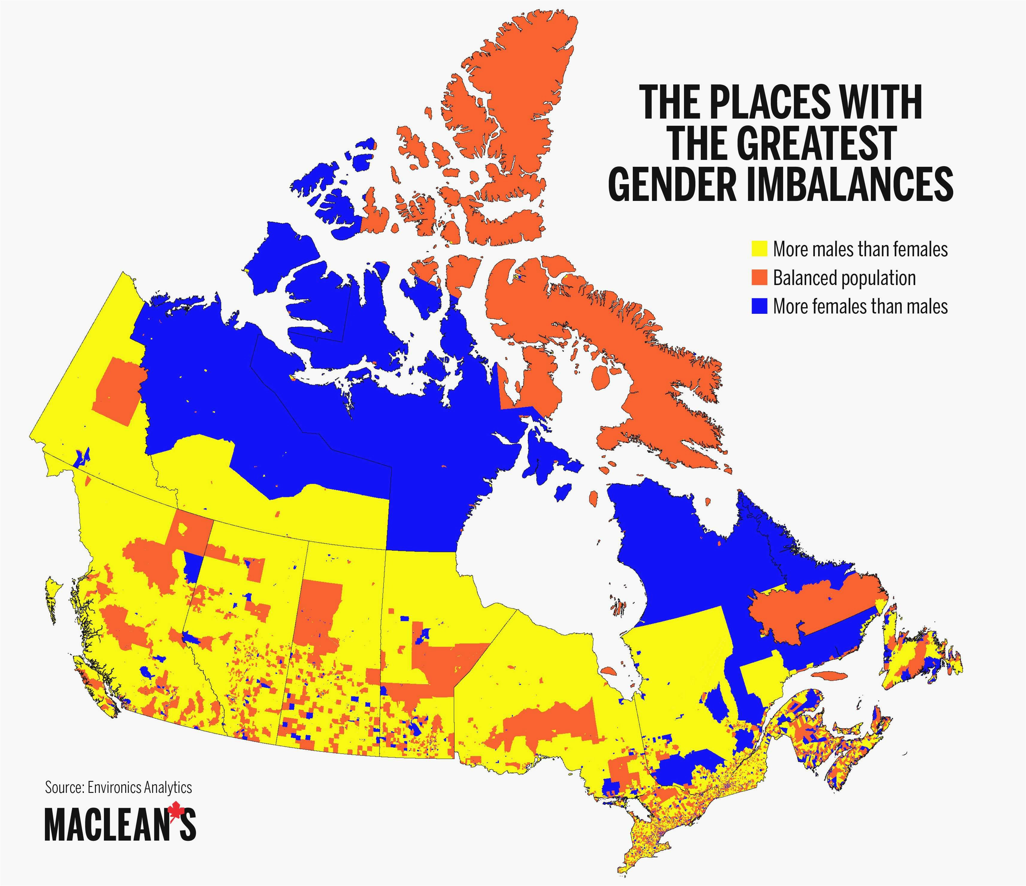 us canada population density map new canada population density map