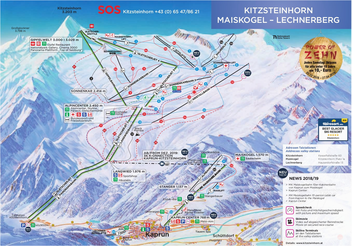 kaprun austria piste map free downloadable piste maps