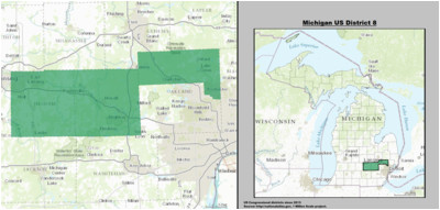 michigan s 8th congressional district wikipedia