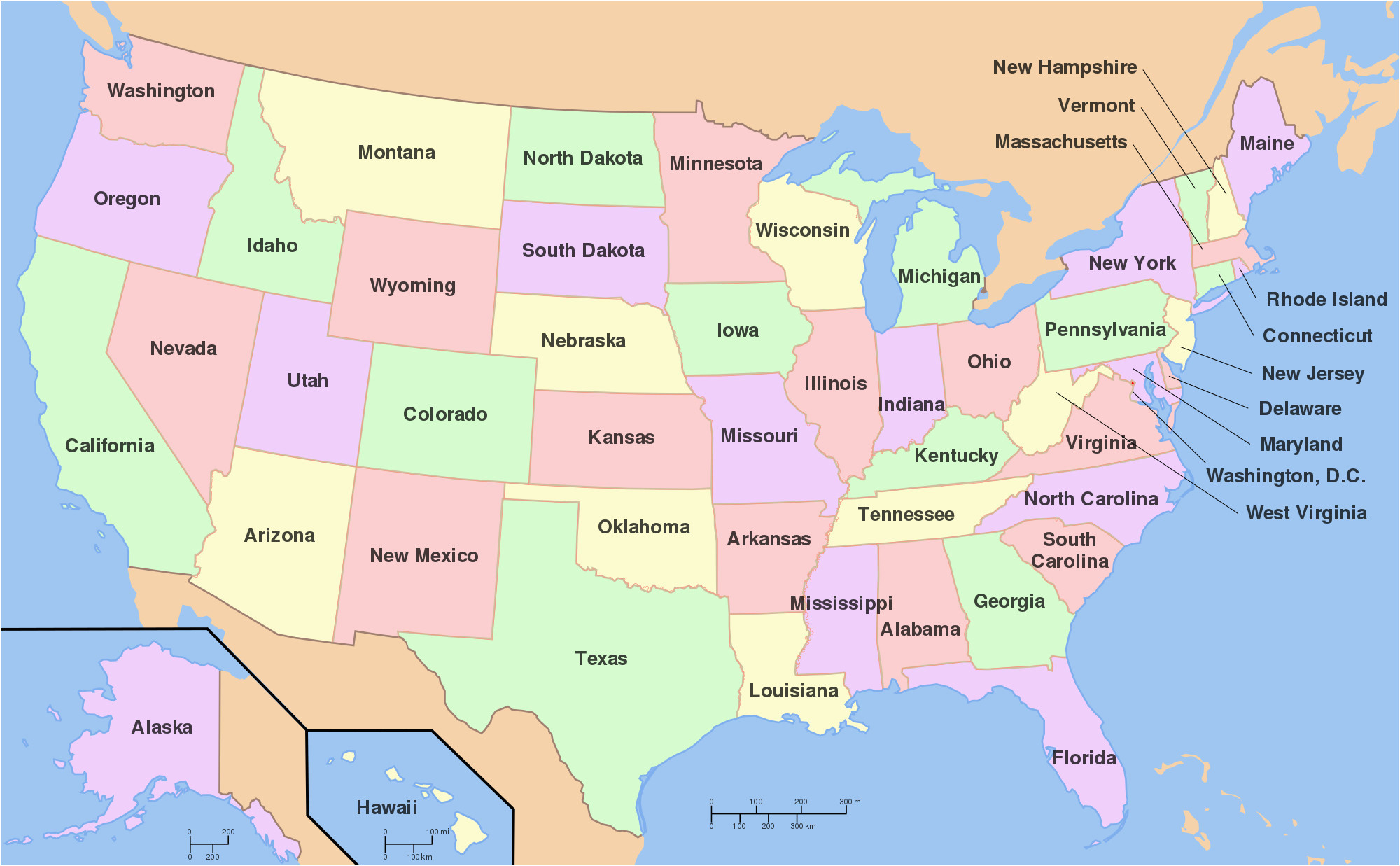 Michigan Thumb area Map File Map Of Usa with State Names Svg Wikimedia Commons