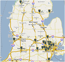 maps directions michigan medicine