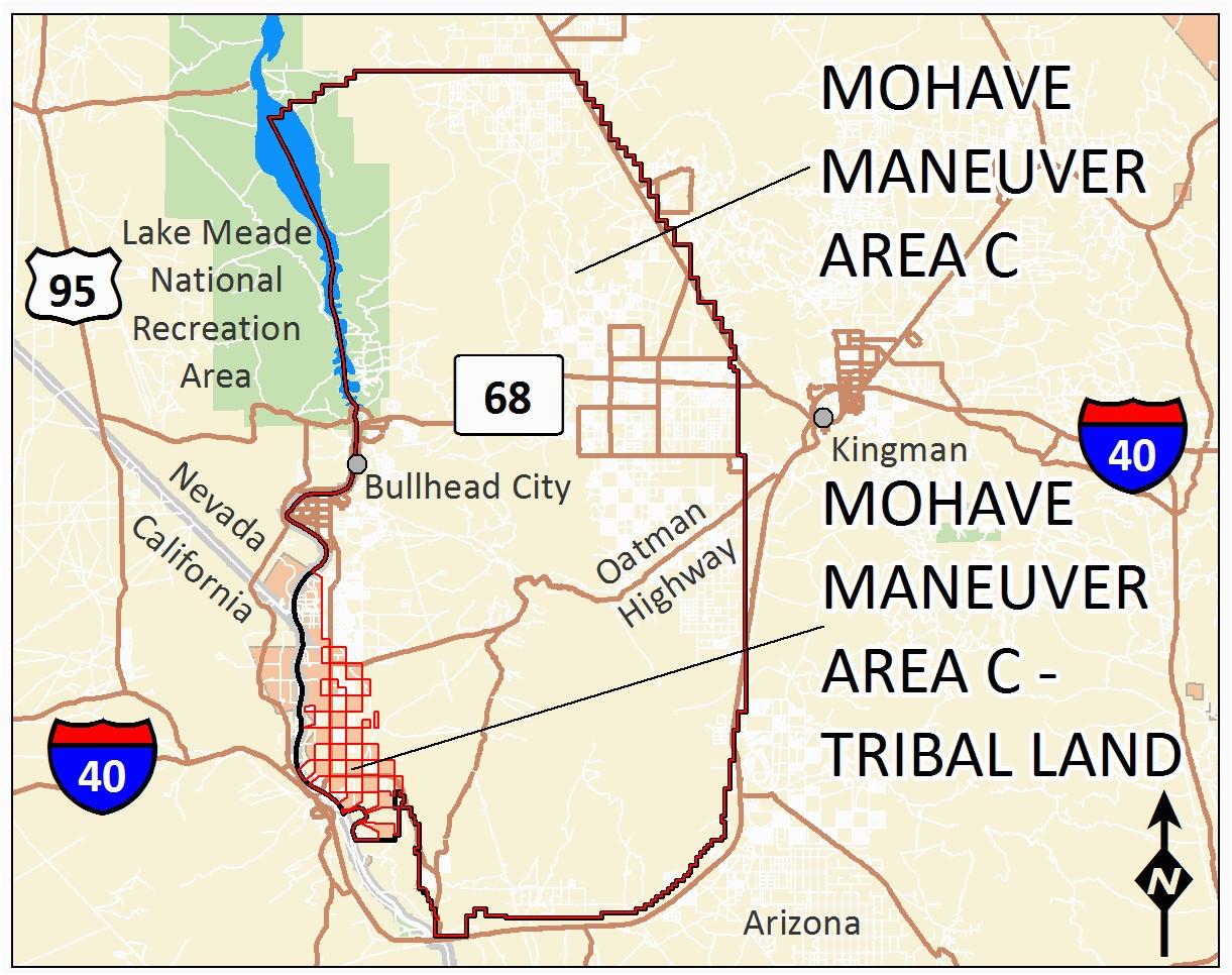 Mojave Desert In California Map.Mojave Desert California Map Mohave Maneuver Area C Secretmuseum