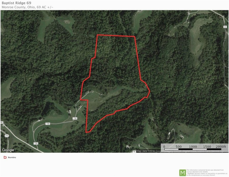 baptist ridge 69 acres monroe county ohio land for sale ohio
