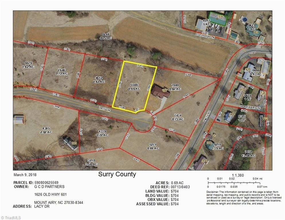 lacy dr mount airy nc 27030 recently sold land sold properties