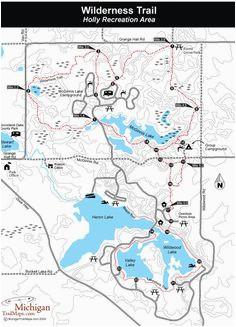 10 best michigan trail maps images trail maps michigan northern