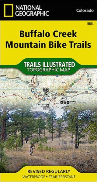 national geographic map ngs 503 usa buffalo creek mountain bike