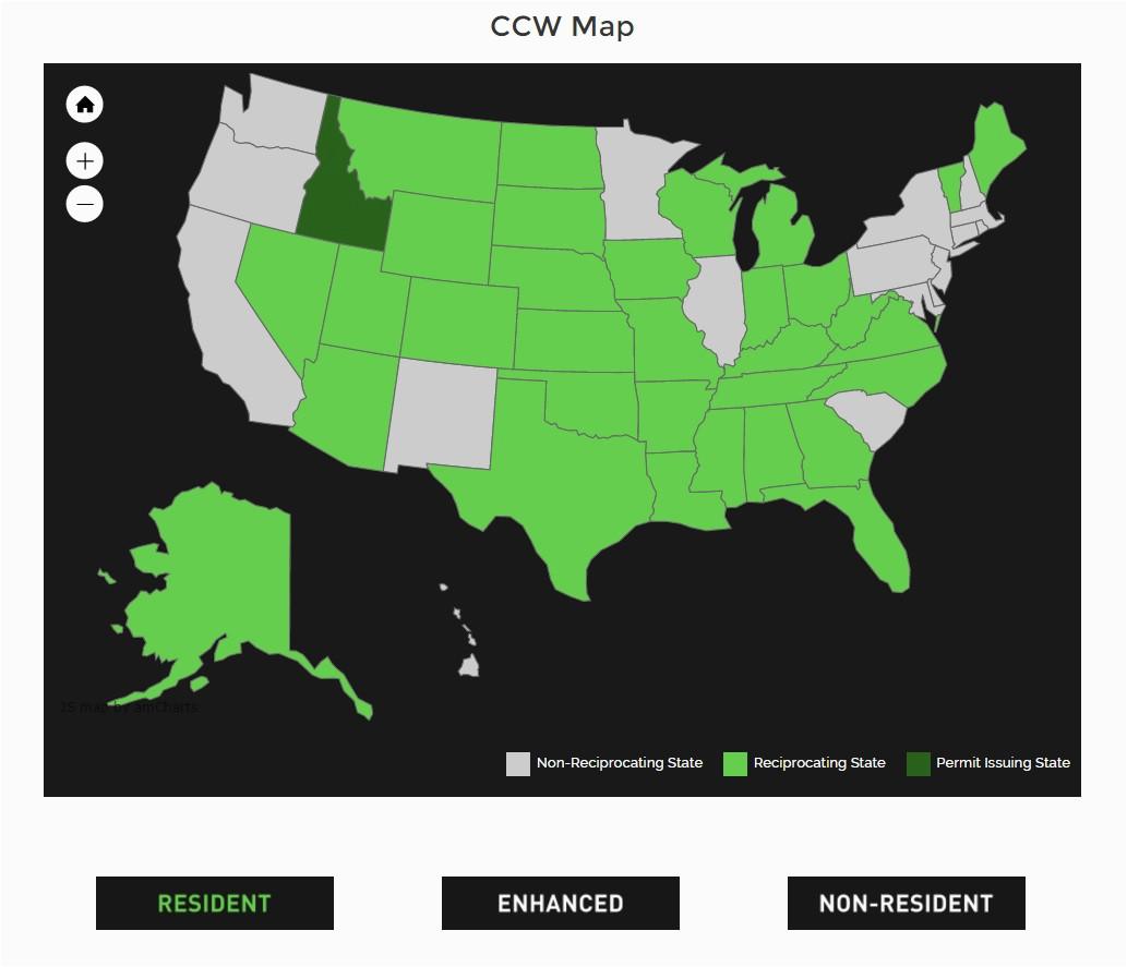 texas chl reciprocity map arizona weather map yorkshire map