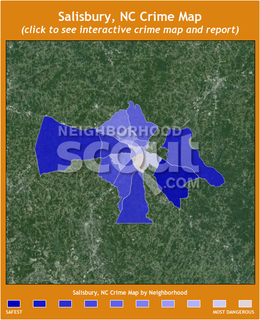salisbury nc crime rates and statistics neighborhoodscout