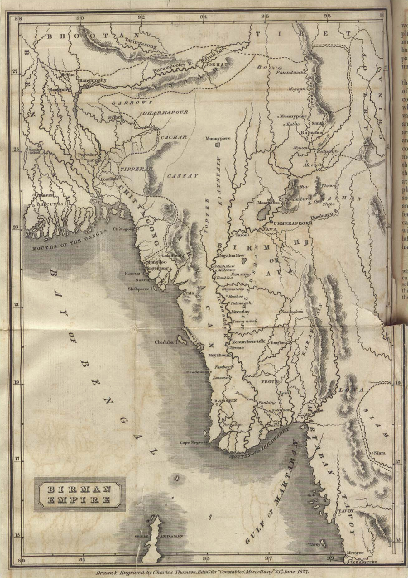 asia historical maps perry castaa eda map collection ut library