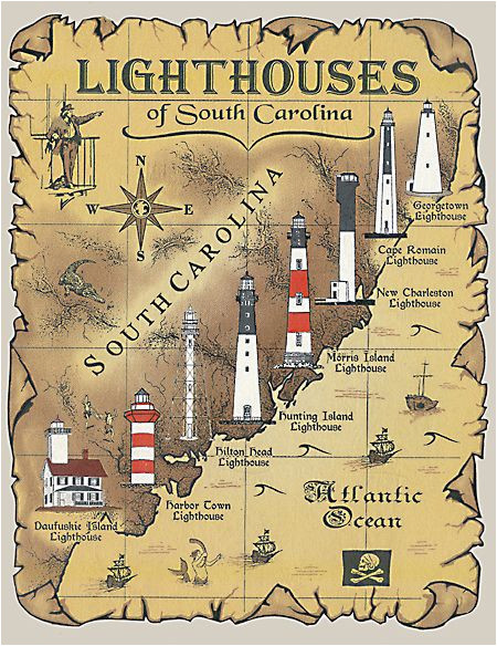 lighthouses in south carolina google search i never knew we had