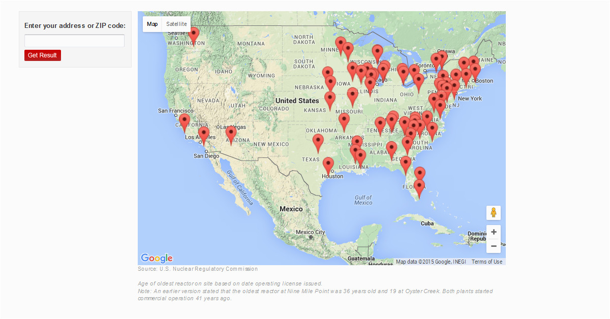 map of nuclear power plants maps directions