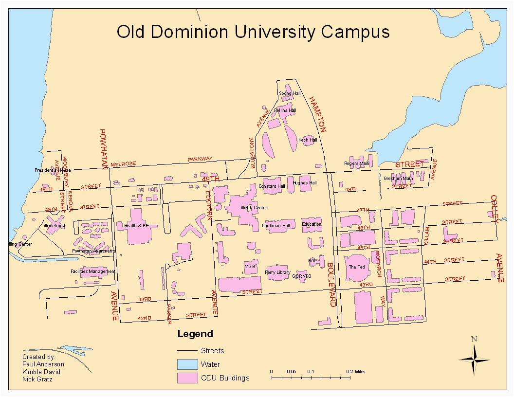 odu campus map fresh odu on jumpic maps directions