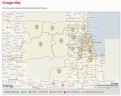 Ohio Power Outage Map | secretmuseum on