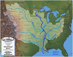 mississippi river system wikivisually