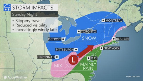 snow christmas eve could make for slippery travel conditions in