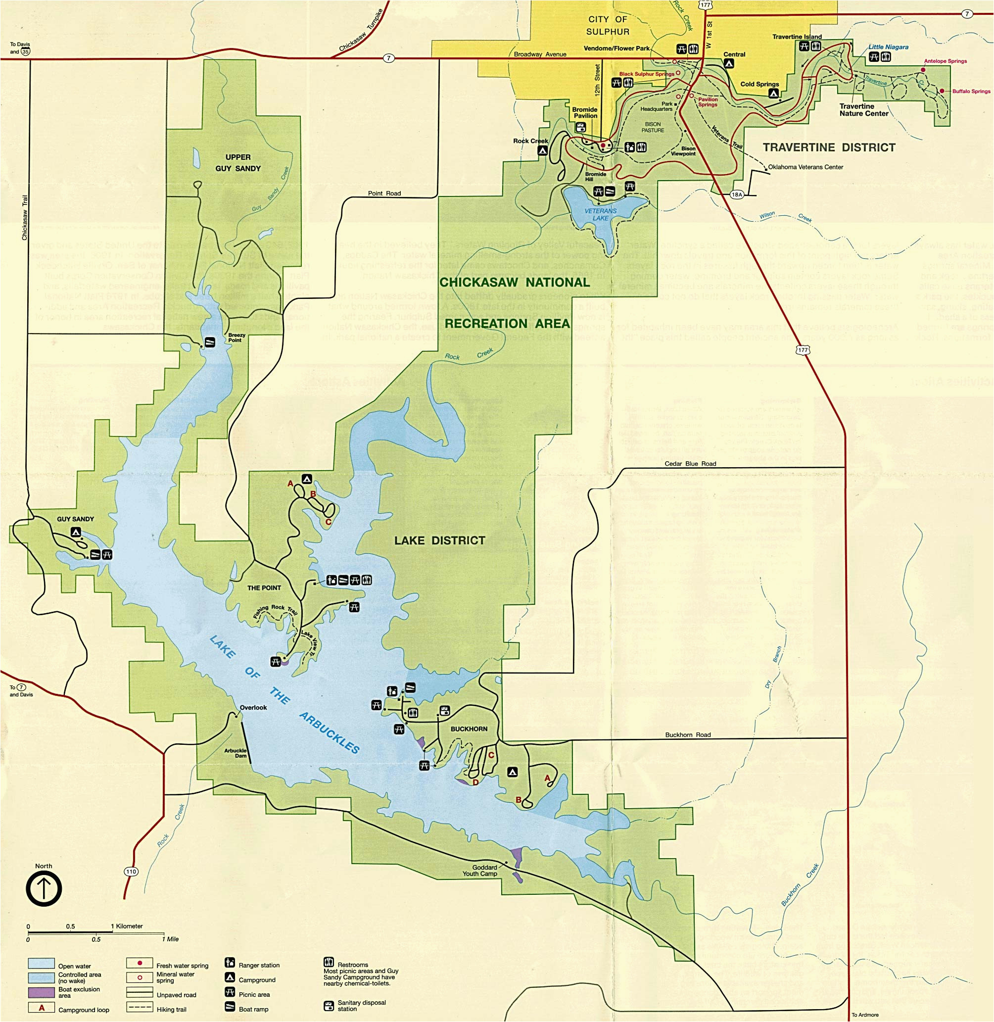 ohio state parks map beautiful united states national parks and