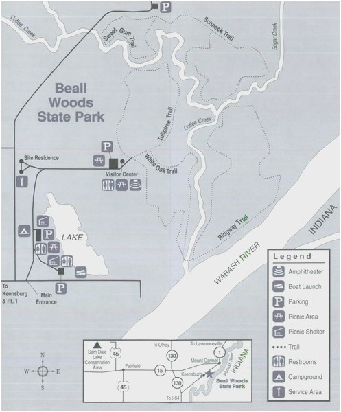 Ohio State Parks Camping Map Ohio State Parks Map Lovely National ...