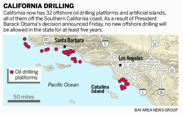obama blocks new oil drilling off california west coast through 2022