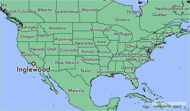 where is inglewood ca inglewood california map worldatlas com