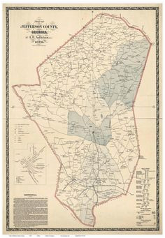 Map Of Old Georgia.Old Map Of Georgia 21 Best Georgia Old Maps Images State Map Antique