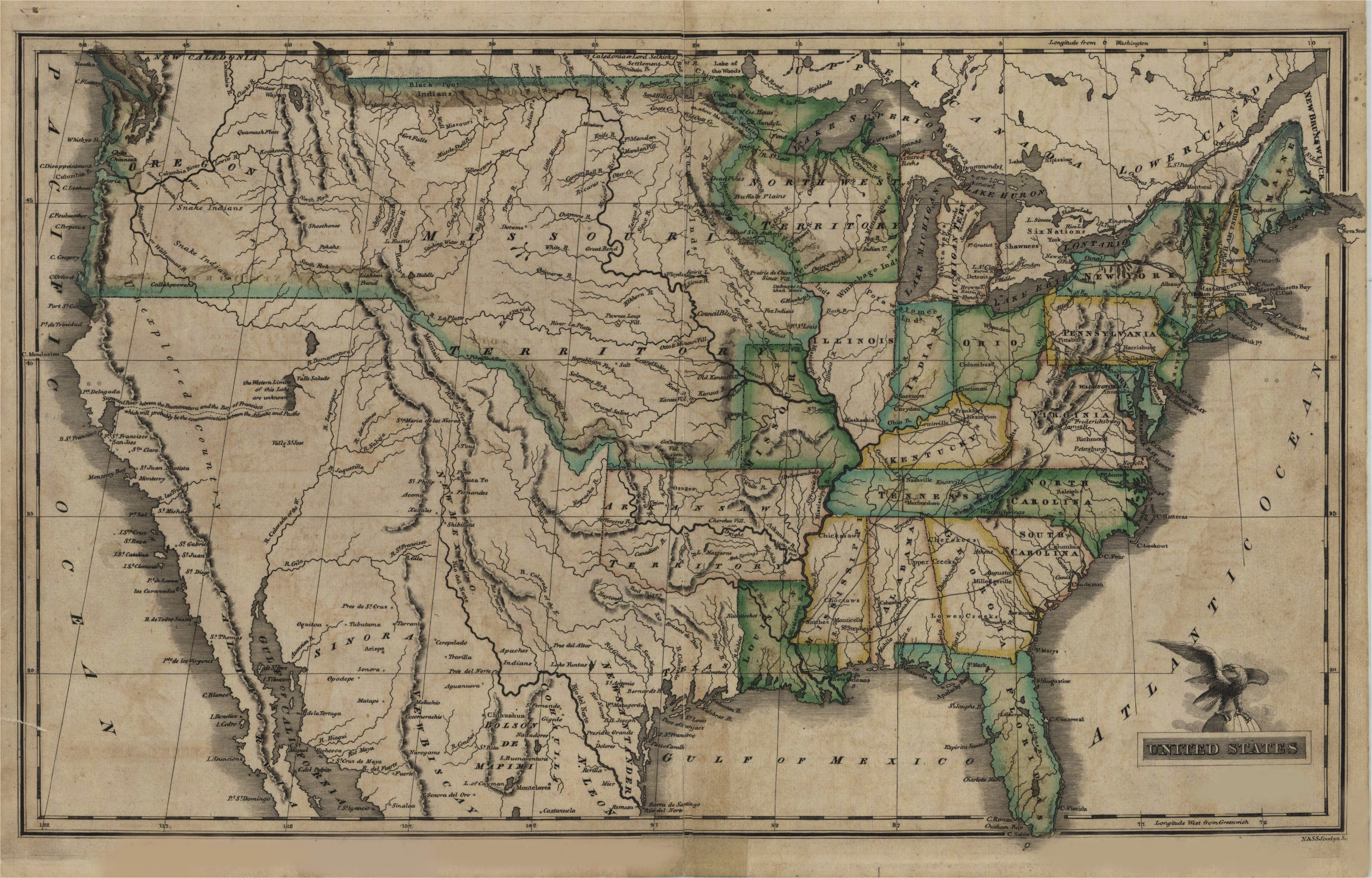 Old Maps Of Colorado File Map Of the United States 1823 Jpg ... Images Of Old Maps The United States on old maps of greenland, old maps of nepal, old maps of the bahamas, old maps of the netherlands, old maps of slovakia, old maps of the midwest, old maps of the southwest, old maps of bolivia, old maps of albania, old us map, antique map united states, old maps of the american revolution, old maps of latin america, vintage wall map united states, old maps of the east coast, old maps of azerbaijan, old maps of guam, old maps of the americas, native american tribes map united states, old united states of america,