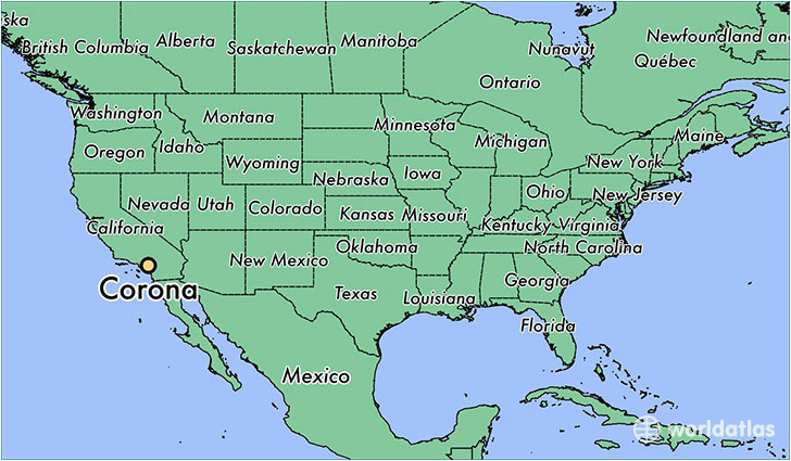where is corona ca corona california map worldatlas com