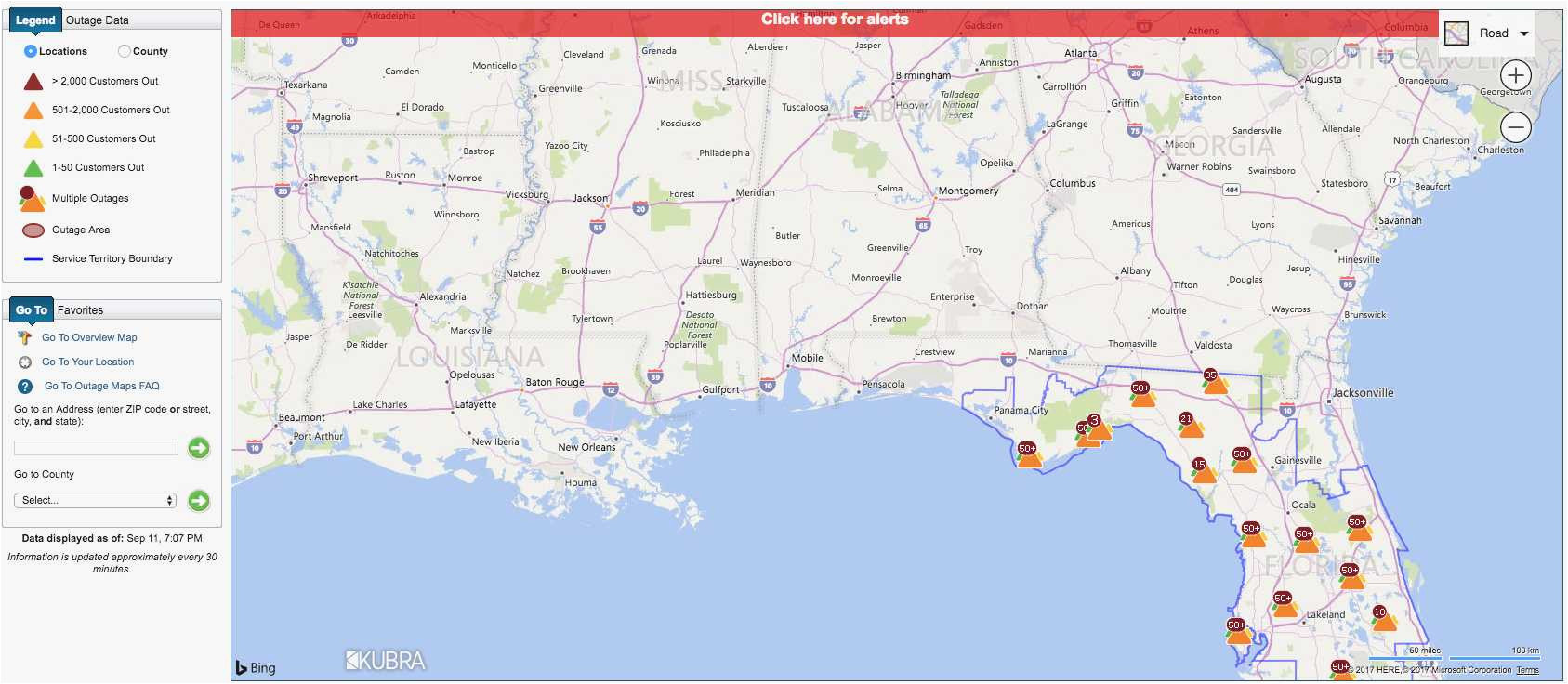Outage Map Georgia Power Dte Energy Power Outage Map Fresh ...