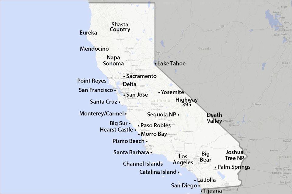 Pismo Beach California Map Secretmuseum