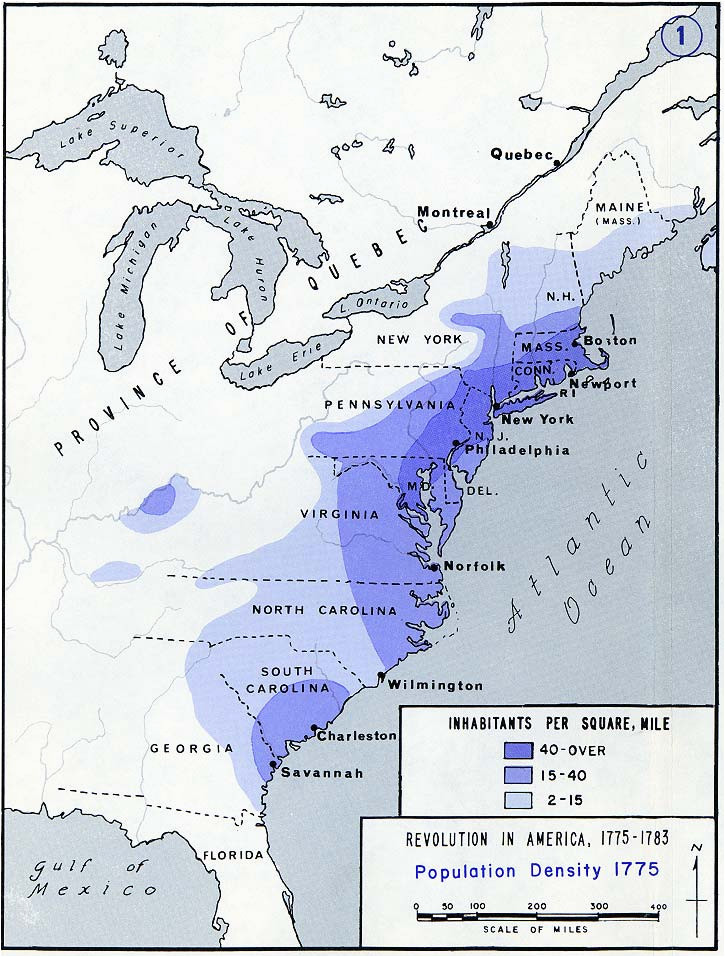 population density of the 13 american colonies in 1775 brilliant maps