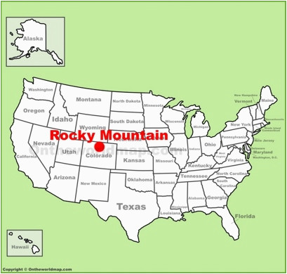 Rocky Mountain National Park Colorado Map Rocky Mountain National Park Maps Usa Maps Of Rocky Mountain
