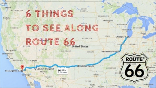 Map Of California Route 66.Route 66 In California Map Route 66 Map California Lovely Route 66