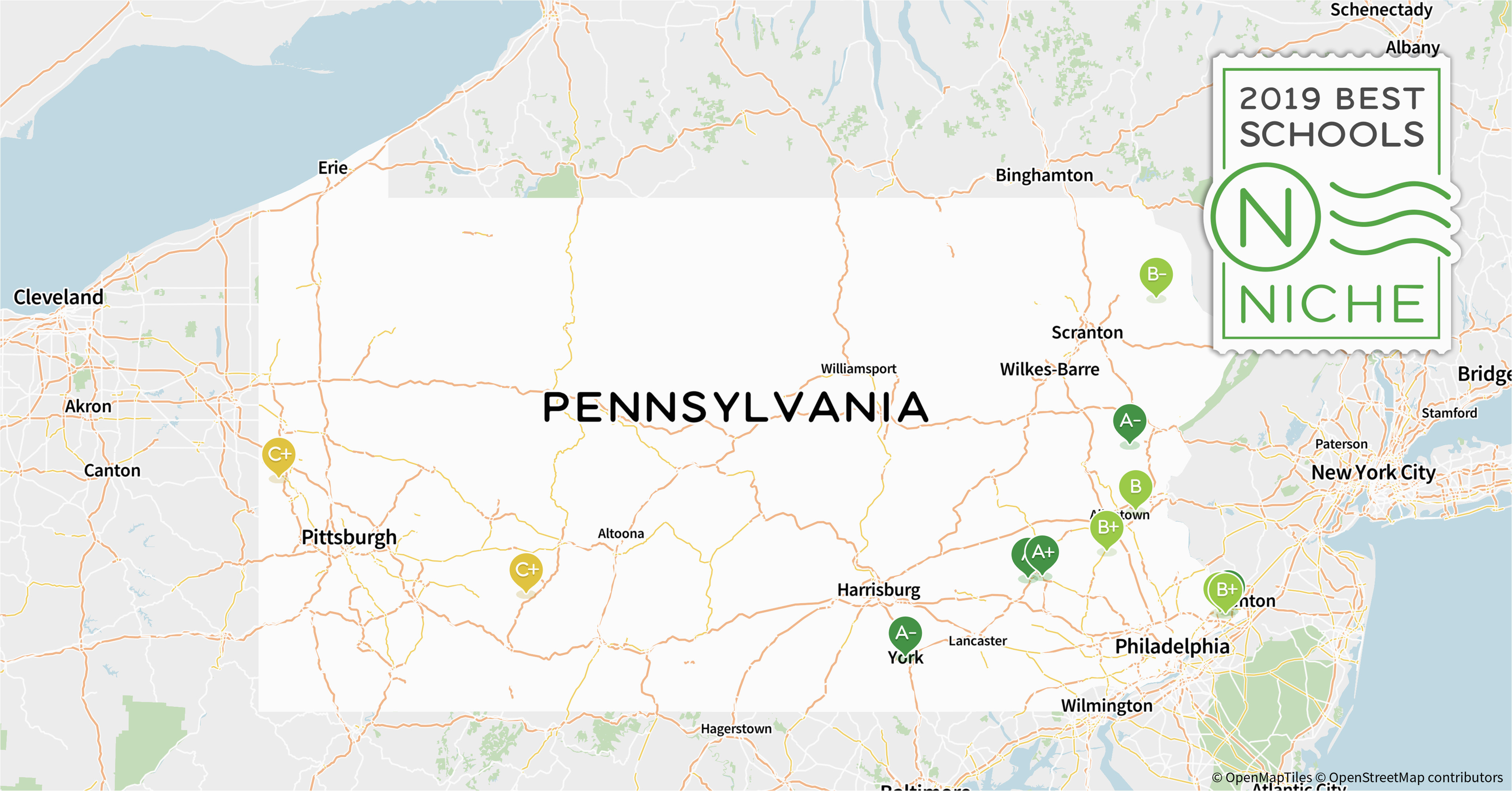 2019 best school districts in pennsylvania niche