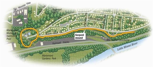 satellite imagery reveals giant serpent mound in ohio i love