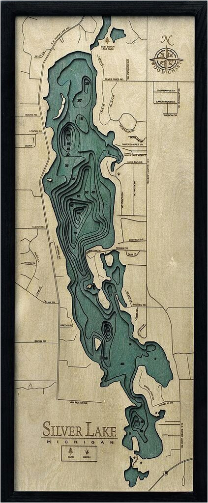 silver lake mi wood chart in 2018 stuff silver lake michigan