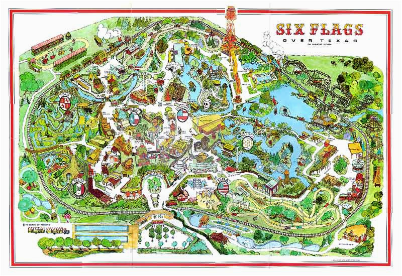 six flags over texas map awesome six flags over texas arlington map