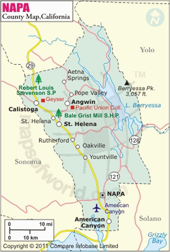 sonoma county map with cities beautiful map reference rutherford