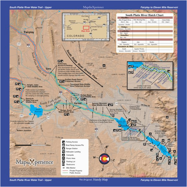 rivers of colorado 18 map bundle fly fishing outfitters avenza maps