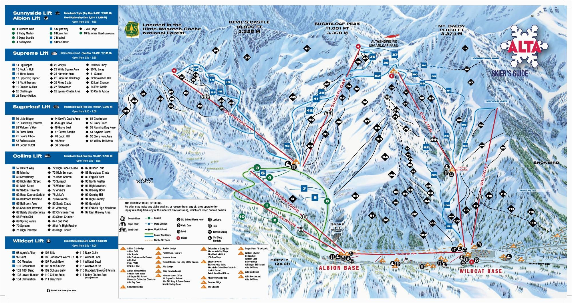 Southern Colorado Ski Resorts Map Us East Coast Ski Resorts Map New ...