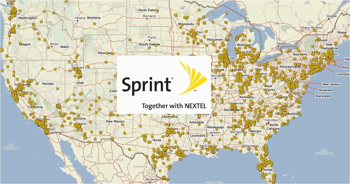 maps sprint coverage map north carolina diamant ltd com
