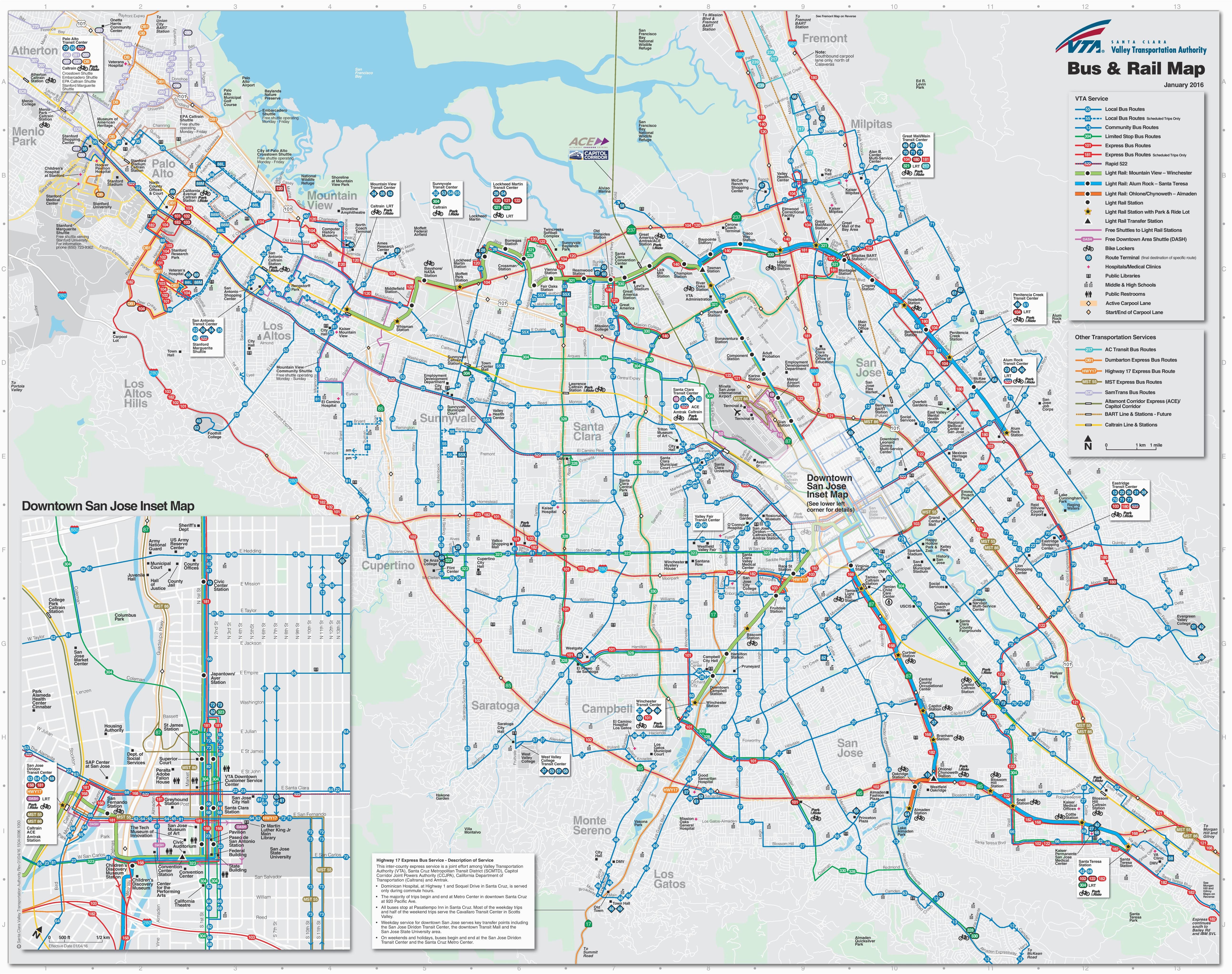 san jose california map massivegroove com