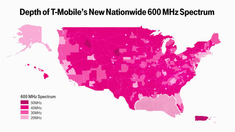 t mobile lte coverage map tmonews inspiring ideas 6476