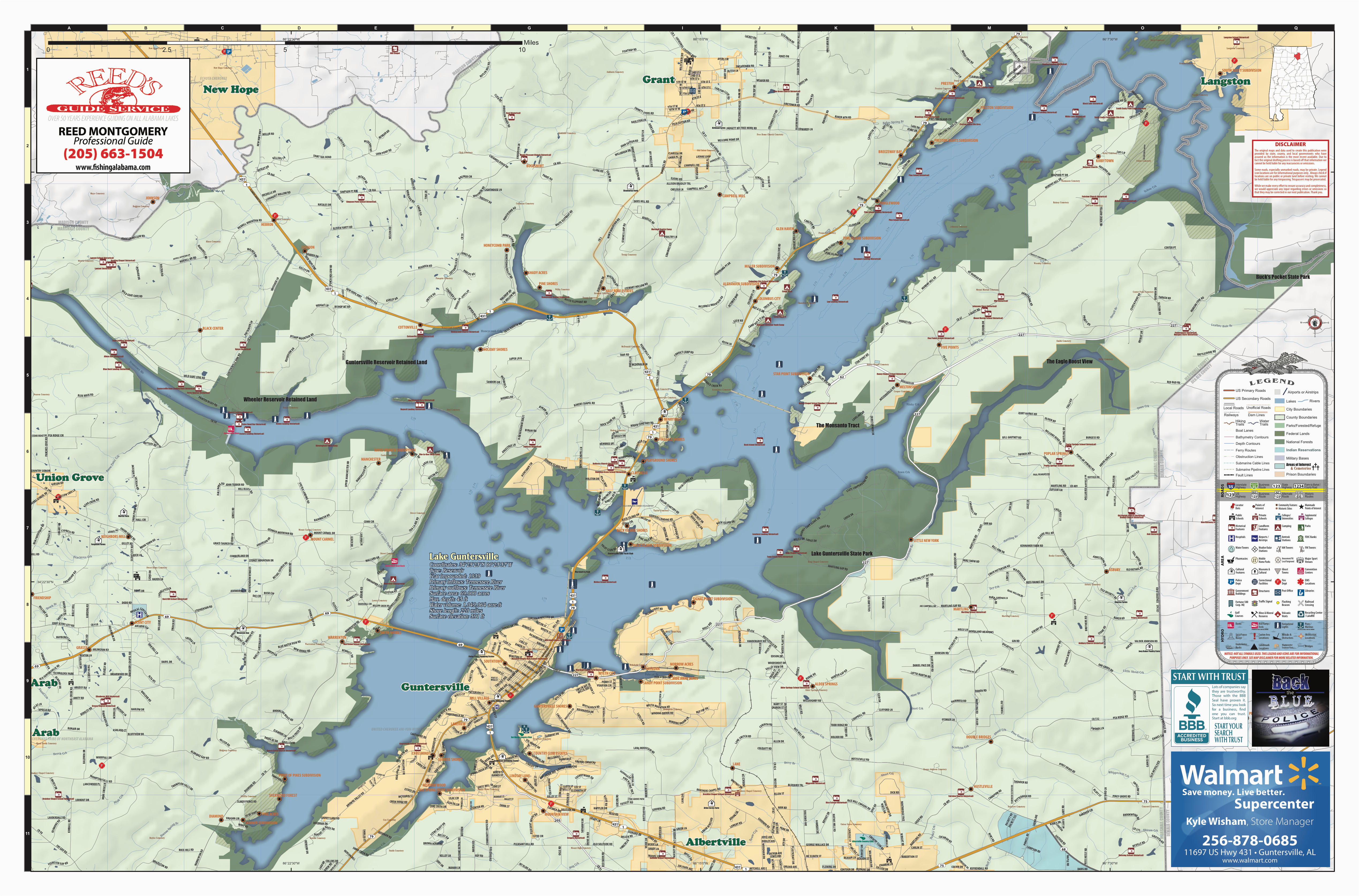 2018 edition map lake guntersville al pages 1 2 text version